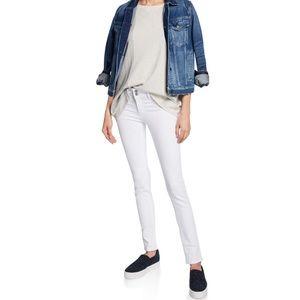 HUDSON White Collin Skinny Jeans Five Pocket 27
